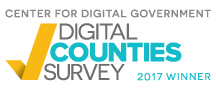 Image of Digital Counties National Winner Logo